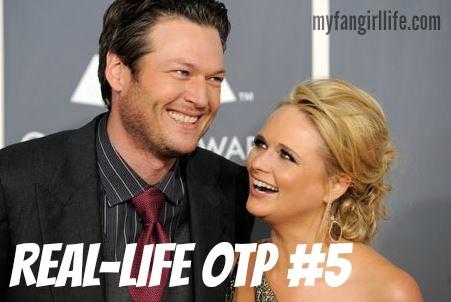 Blake Shelton and Miranda Lambert OTP