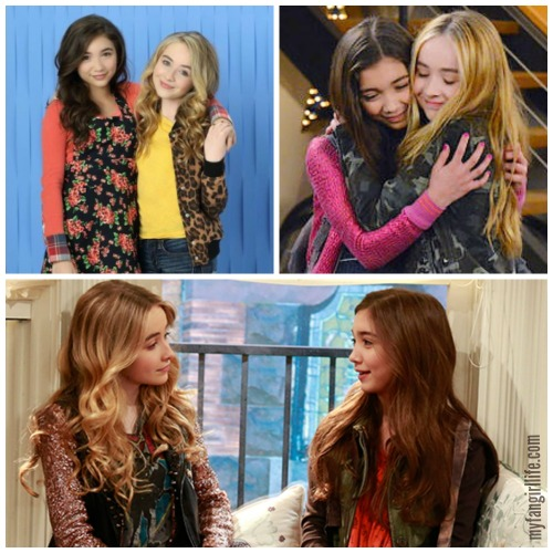 Girl Meets World Riley and Maya