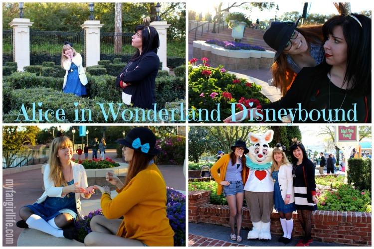 Alice in Wonderland Disneybound
