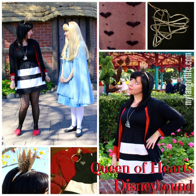 Alice in Wonderland Queen of Hearts Disneybound