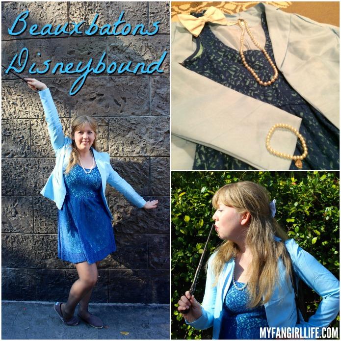 Beauxbatons Disneybound