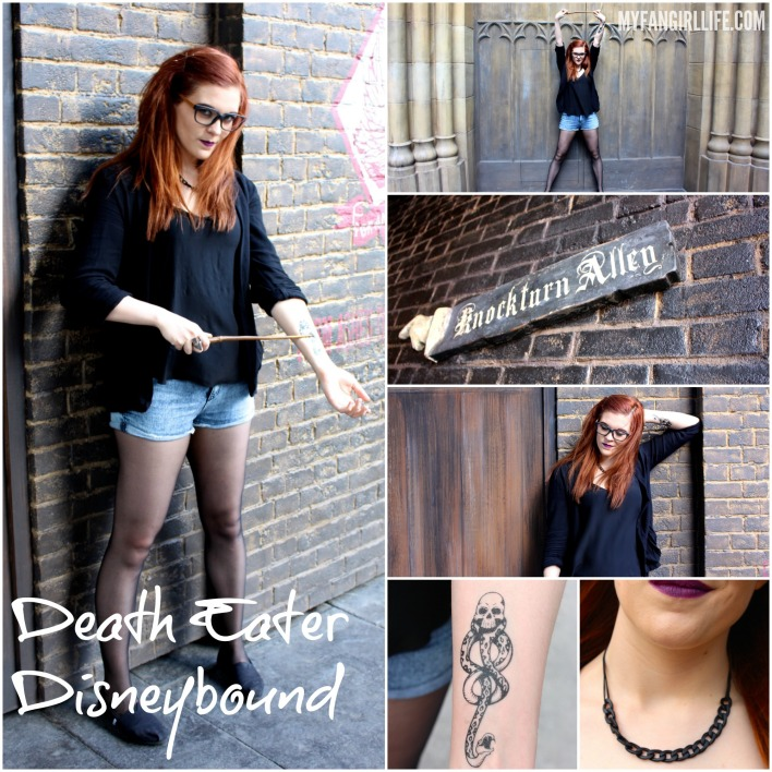 Death Eater Disneybound