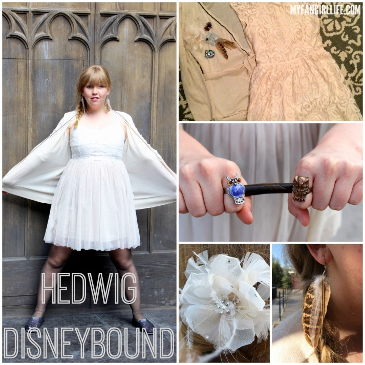Hedwig Disneybound