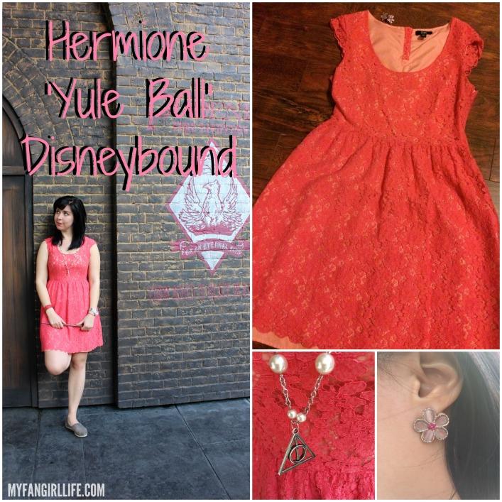 Hermione Yule Ball Disneybound