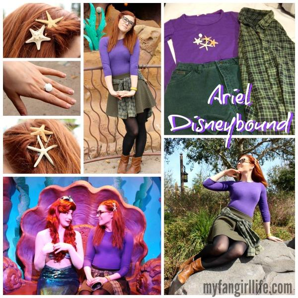 Little Mermaid Ariel Disneybound Outfit