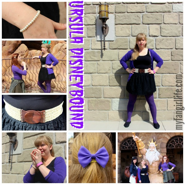 Little Mermaid Ursula Disneybound Outfit