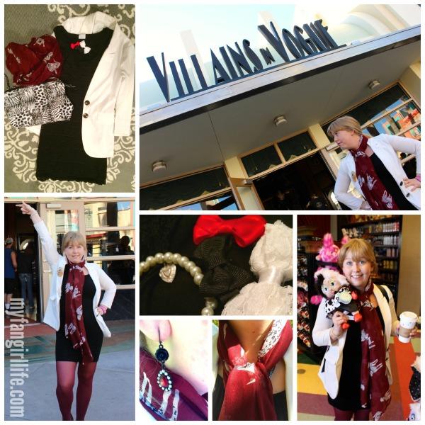 Villians Cruella Devile Disneybound
