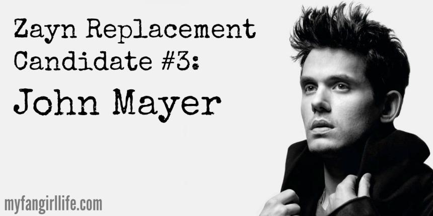 1D Zayn Replacement Candidate 3 - John Mayer