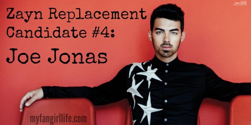 1D Zayn Replacement Candidate 4 - Joe Jonas