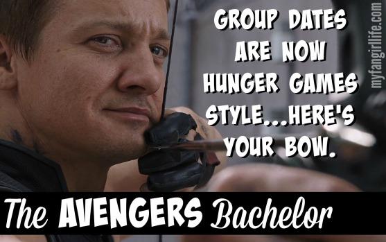 Clint Barton Hawkeye Avengers Bachelor