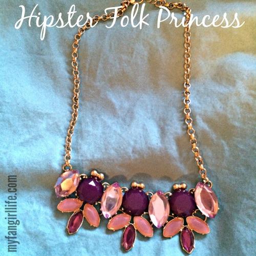 Colourful Bling Hipster Folk Princess