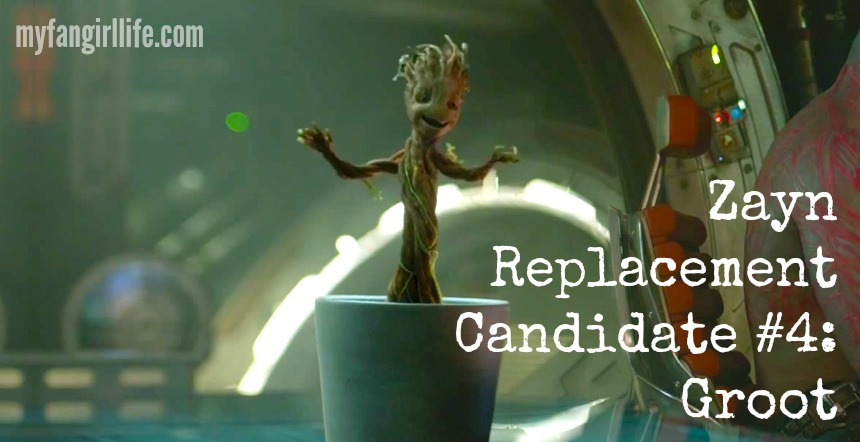 Zayn replacement candidate Groot Guardians of the Galaxy
