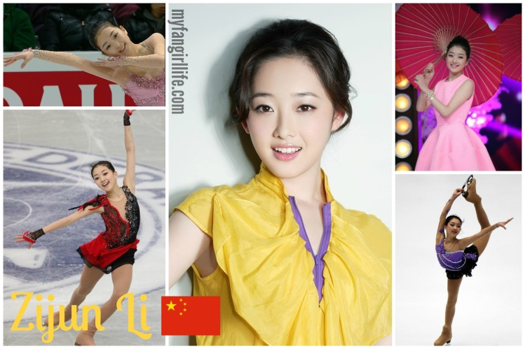 Hottest Figure Skaters Zijun Li