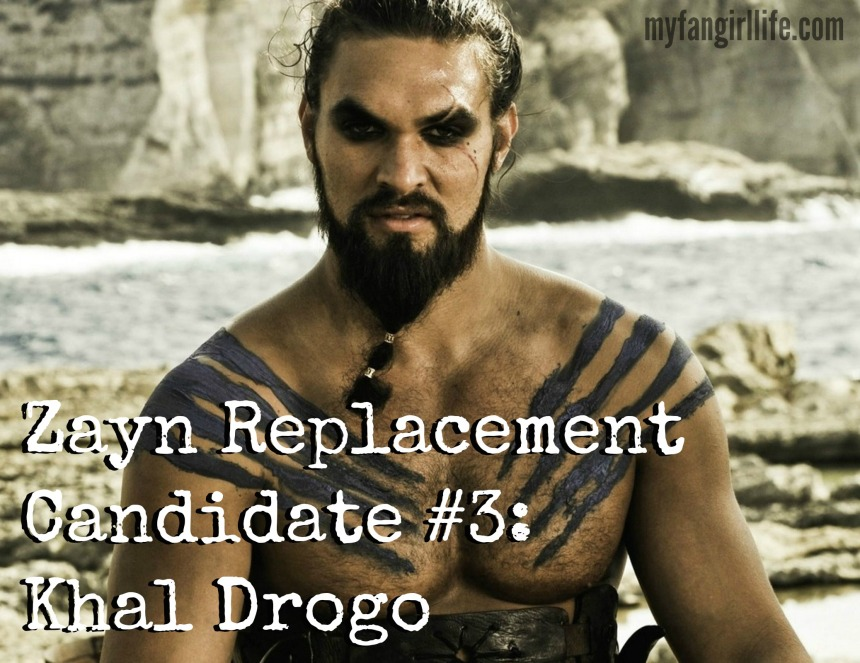 Zayn replacement candidate Khal Drogo Game of Thrones