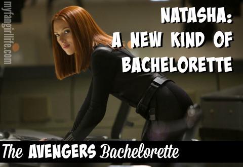 Natasha Romanoff Black Widow Avengers Bachelor