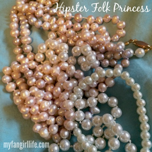 Pearls Hipster Folk Princess