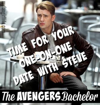 Steve Rogers Captain America Avengers Bachelor