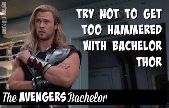 Thor Avengers Bachelor