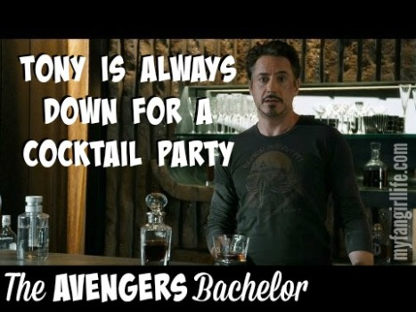 Tony Stark Iron Man Avengers Bachelor
