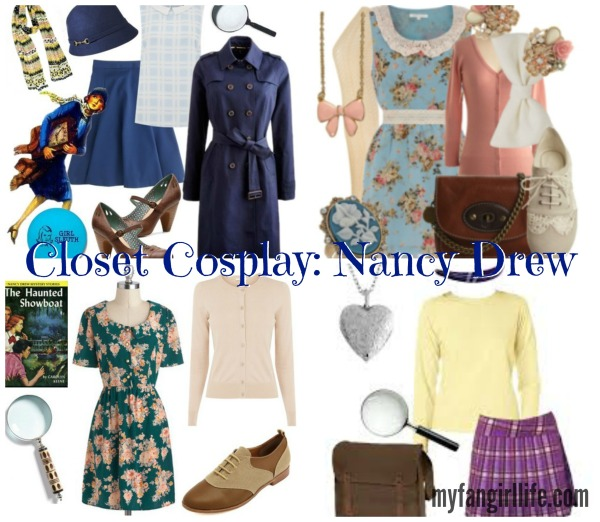 Nancy Drew Closet Cosplay Collage