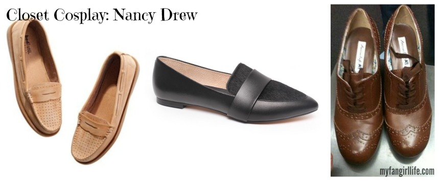 Nancy Drew shoes Banner