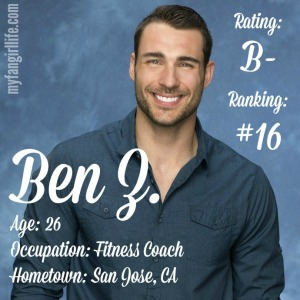 The Bachelorette Ben Z (W0)