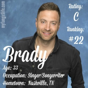 The Bachelorette Brady (W0)