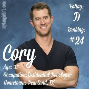 The Bachelorette Cory (W0)