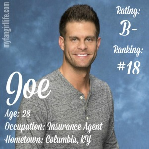 The Bachelorette Joe (W0)