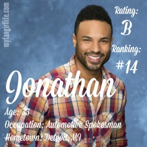 The Bachelorette Jonathan (W0)