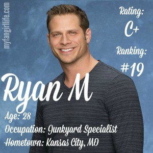 The Bachelorette Ryan M (W0)
