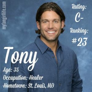 The Bachelorette Tony (W0)