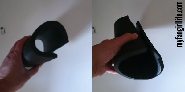 Working With Foam Guantlet Shape NightWing Cosplay