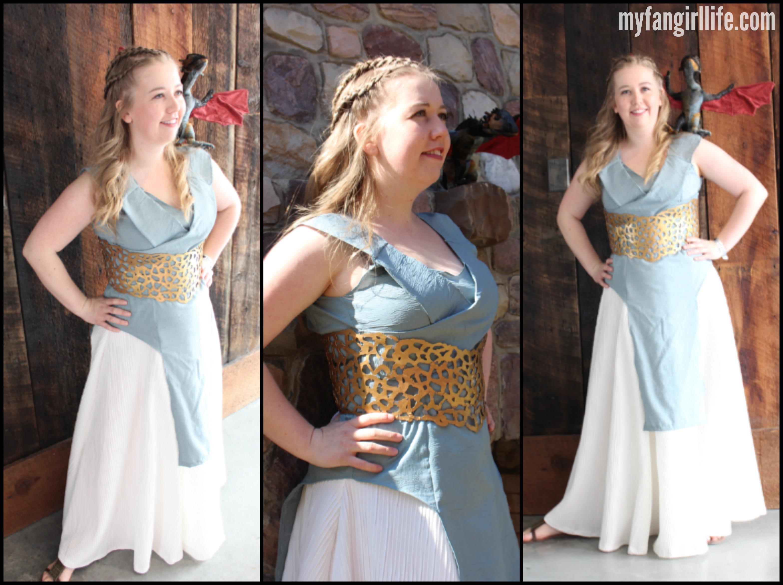 My fangirl life cosplay daenerys targaryen my fangirl life for Daenerys targaryen costume tutorial